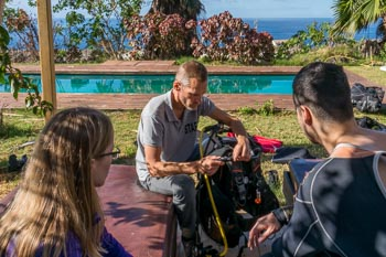 Learn to dive on Tenerife - theory classes