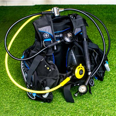 Aqua-Lung BCD and Apeks Regulator - best set to rent