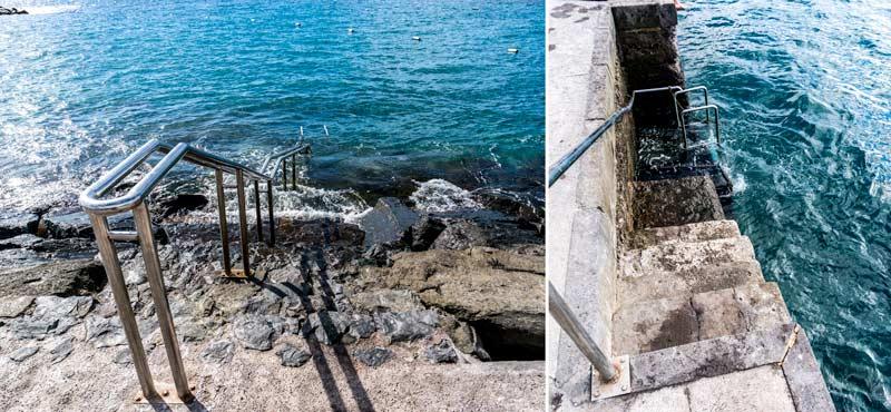 Alcala Dive Site Entrance