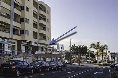 Location of Blackstone Dive Center on Tenerife