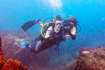 New diver and instructor - try dive