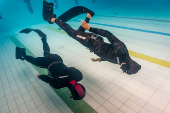 PADI Freediving course